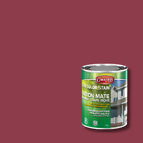 Owatrol Solid Color Stain - RAL 4002 Rotviolett