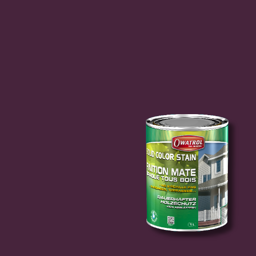 Owatrol Solid Color Stain - RAL 4007 Purpurviolett