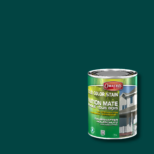 Owatrol Solid Color Stain - RAL 6004 Blaugrün