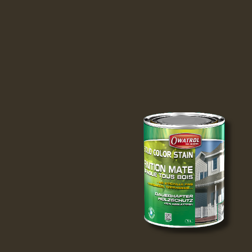 Owatrol Solid Color Stain - RAL 6022 Braunoliv