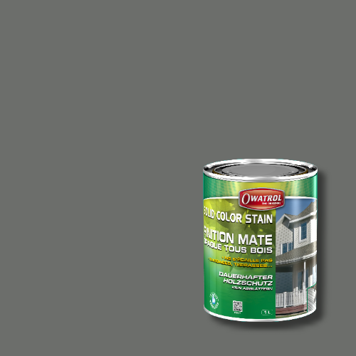 Owatrol Solid Color Stain - RAL 7005 Mausgrau