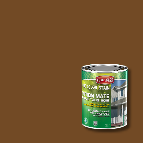 Owatrol Solid Color Stain - RAL 8008 Olivbraun