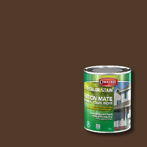 Owatrol Solid Color Stain - RAL 8028 Terrabraun